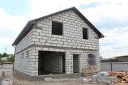 Стоительство домов из блоков под ключ в Городее и р-не