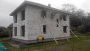Стоительство домов из блоков под ключ в Узденском р-не