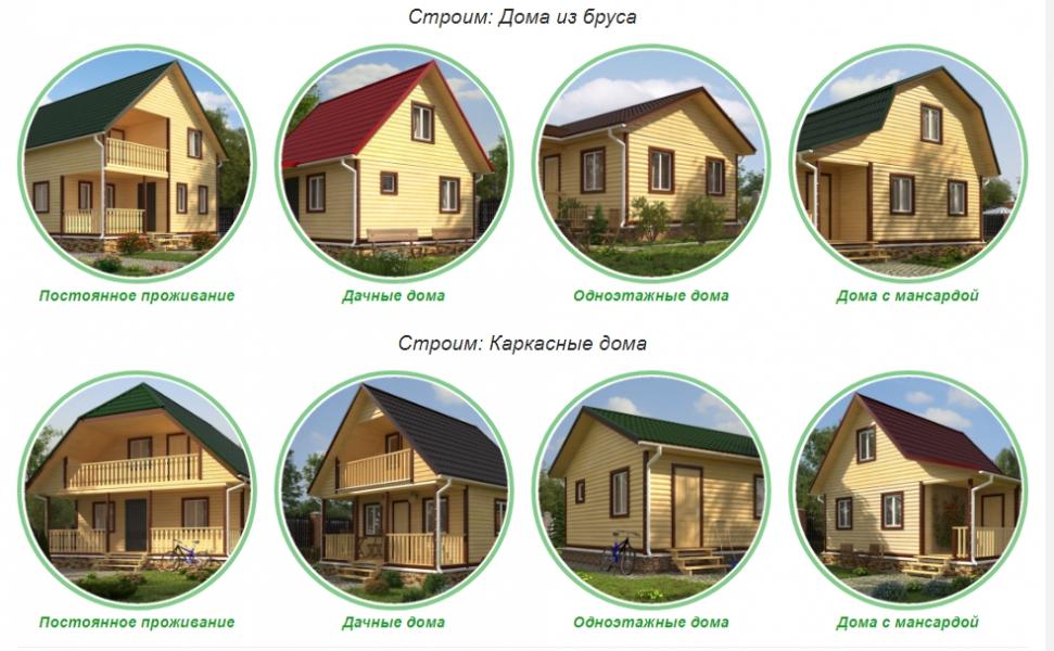 Строительство каркасных Домов в Крупском районе
