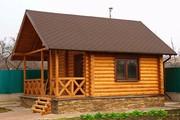 Строительство деревянных бань в Минской области