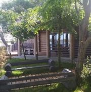 Дома бани беседки из цилиндрованного бруса
